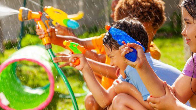 zomerfeestje kinderen