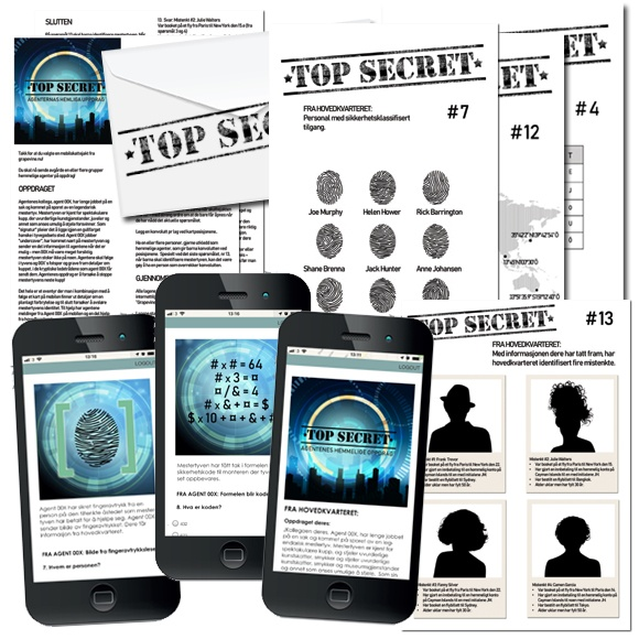 Agentenes hemmelige oppdrag