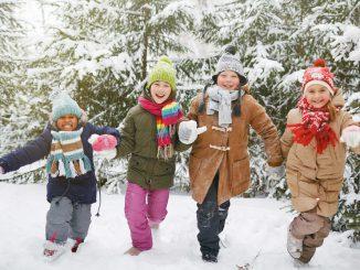 barneselskap vinter