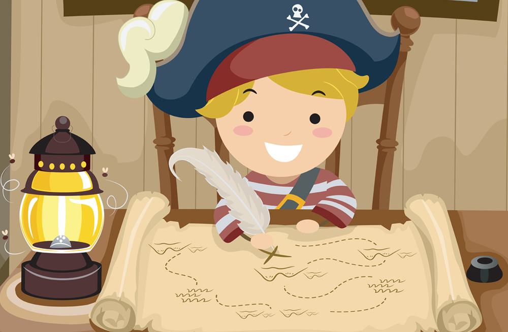 barnebursdag pirater