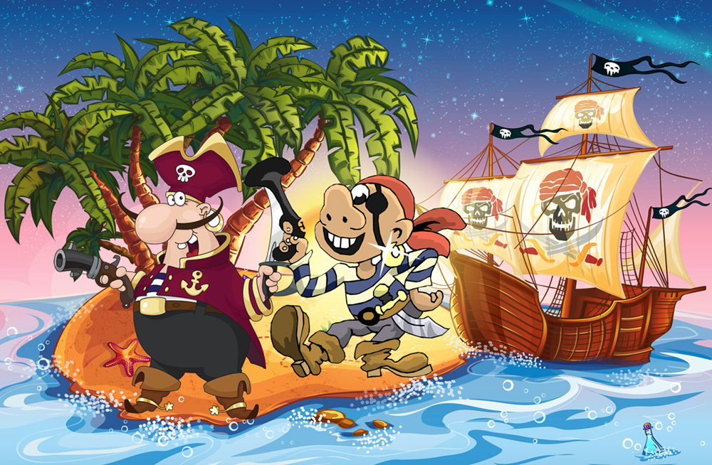 piratskattejakt