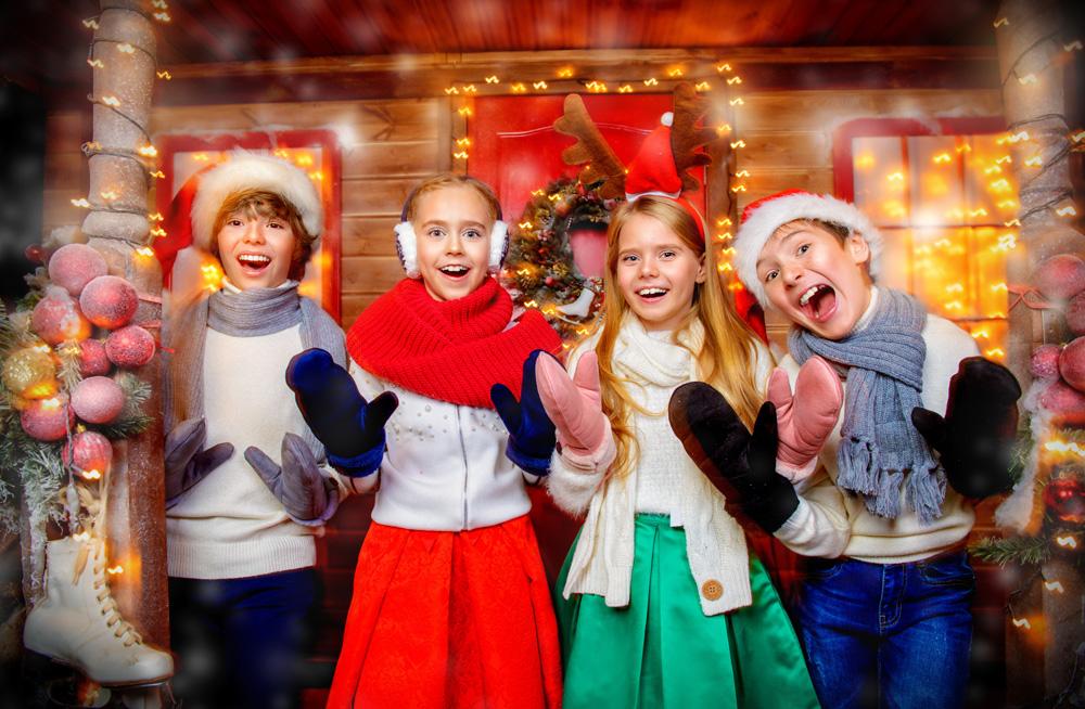 juelfest for barna