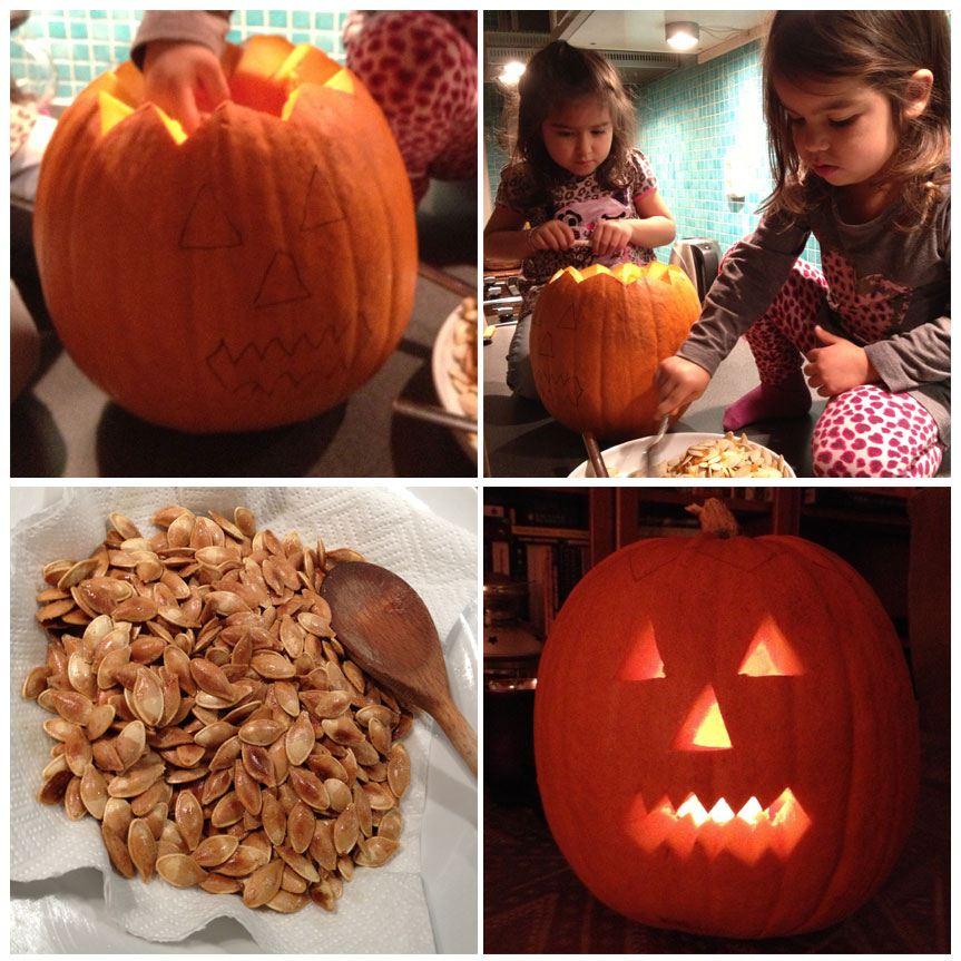 Halloween kurpitsa – näin teet kurpitsalyhdyn