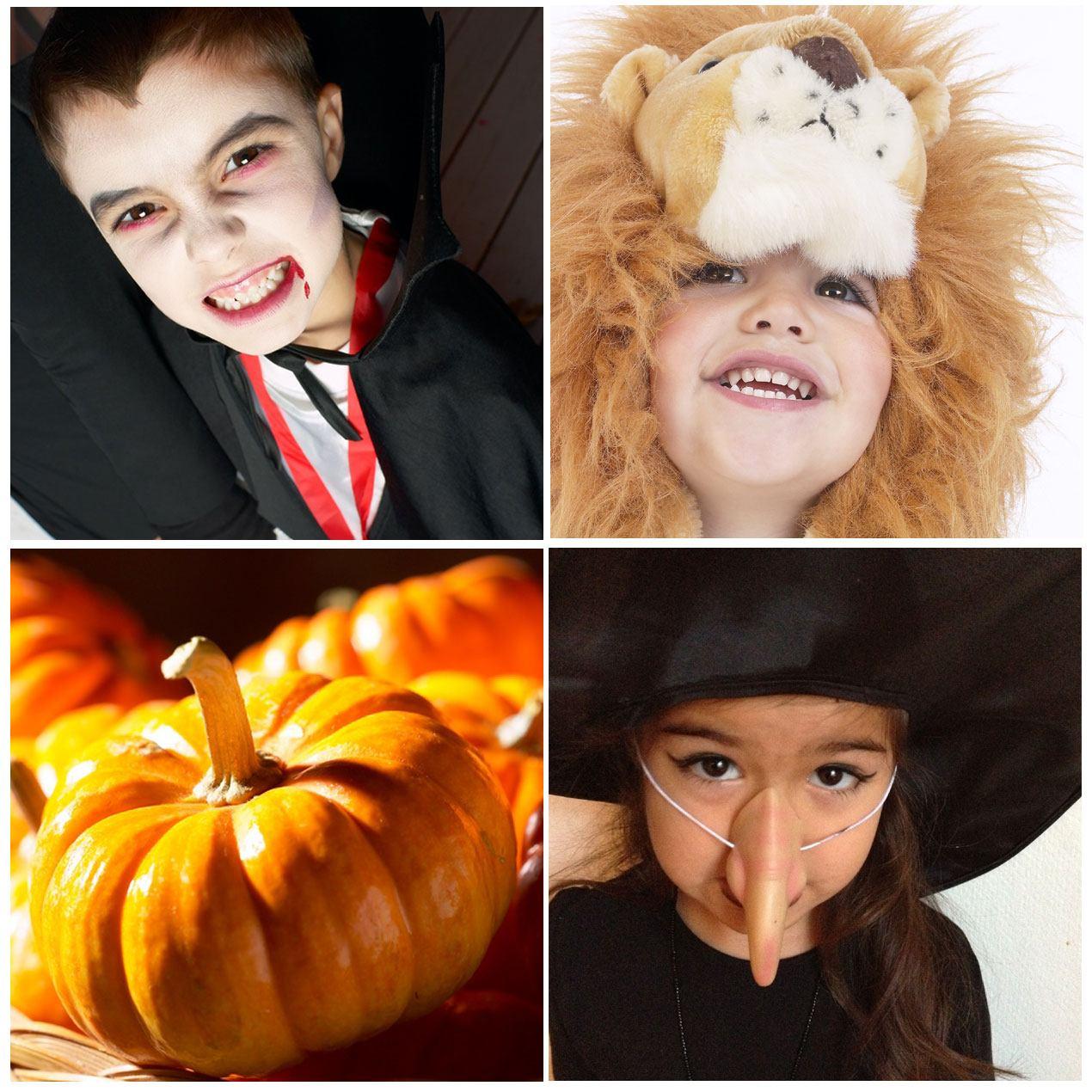 Halloween asut ja Halloween naamiaisasut