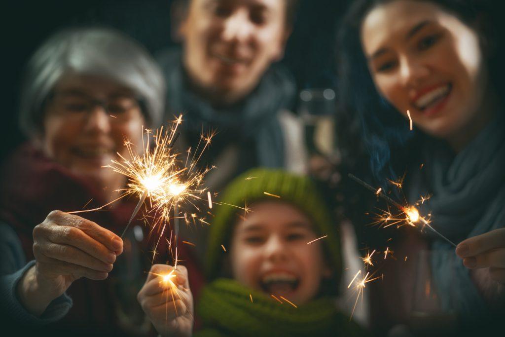 Joulujuhlat ulkona