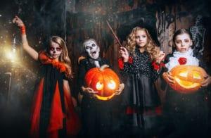 halloweenjuhlat lapsille